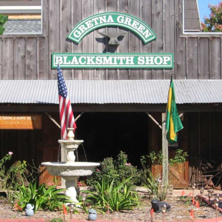 Gretna blacksmith shop