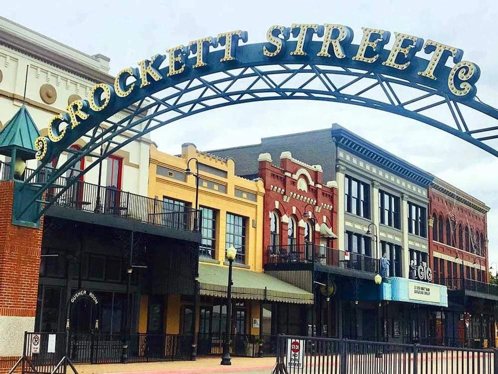 Crockett Street in downtown Beaumont is a little slice of Southeast Texas history.