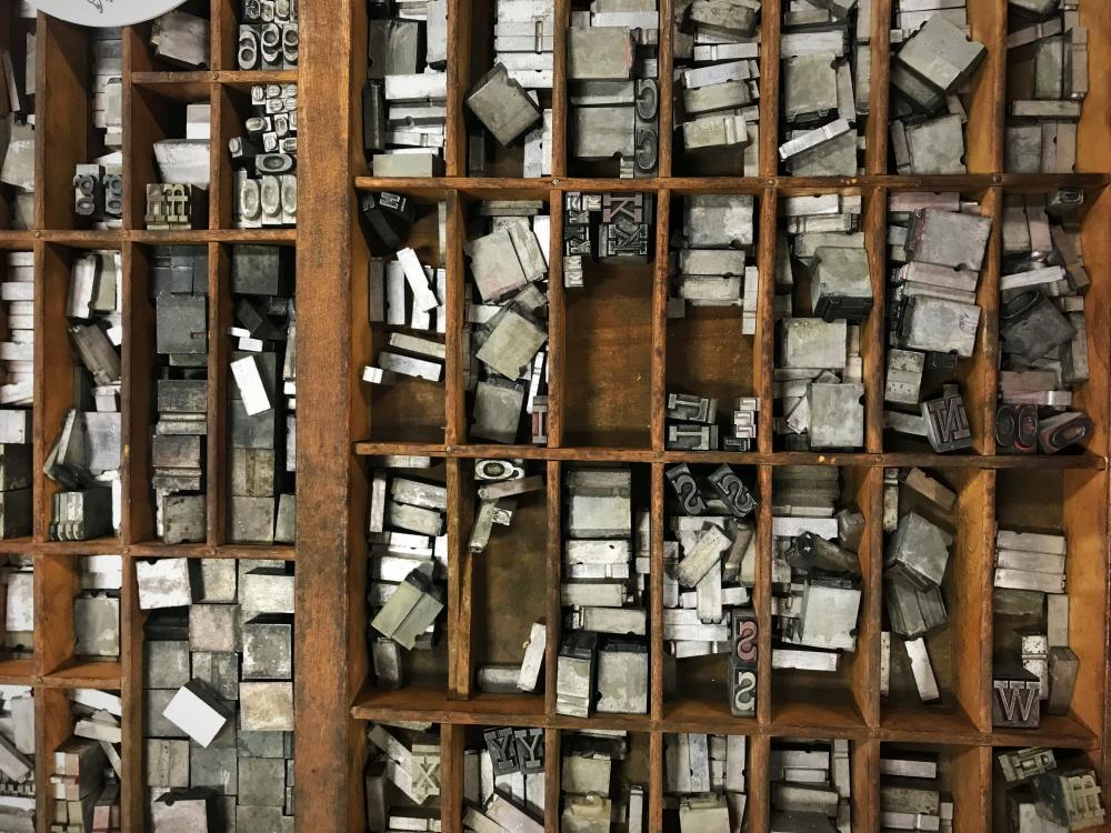 The Hedge Letterpress Stamps - Fort Wayne, Indiana