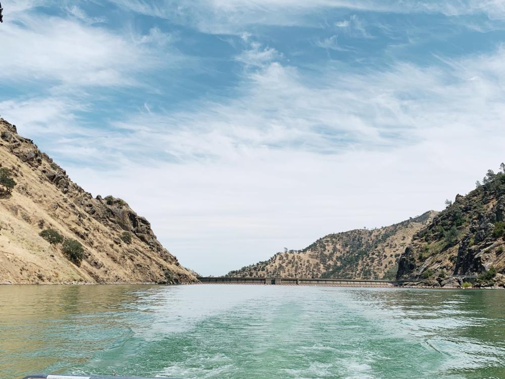 Lake Berryessa From Boat