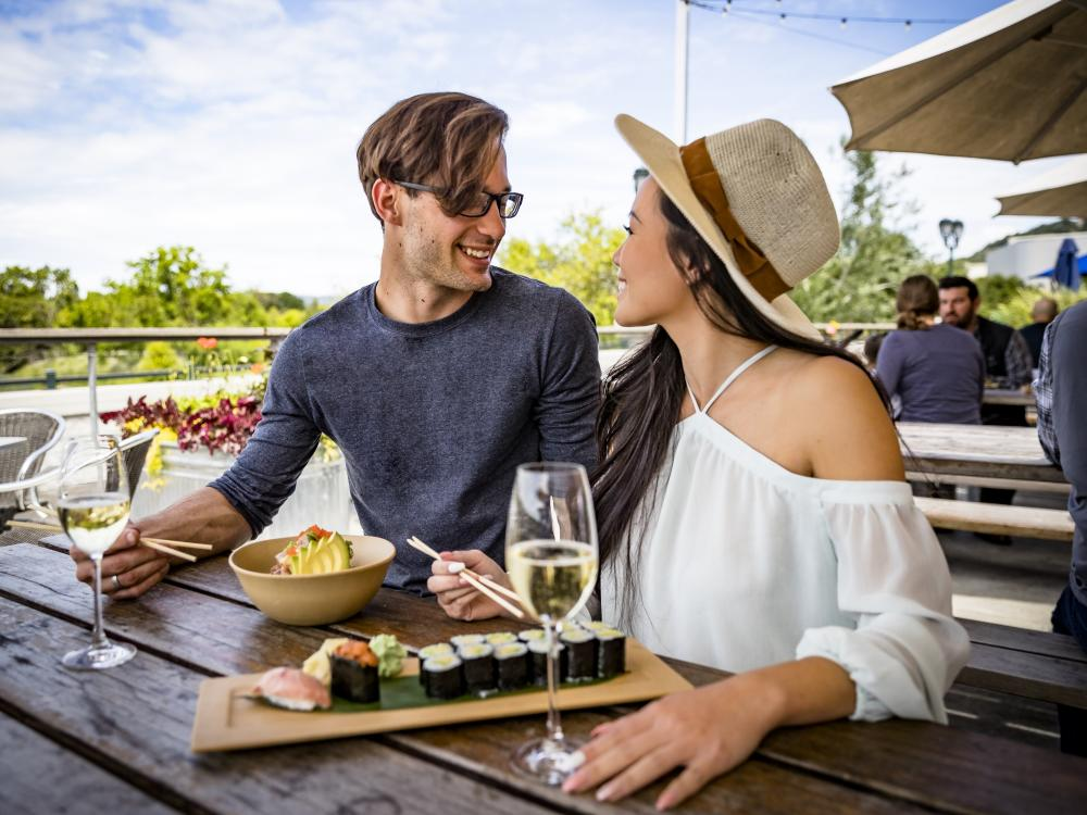 Outdoor Lunch in Napa Valley