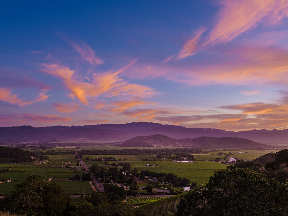 Best Places to Watch the Sunset in Napa Valley