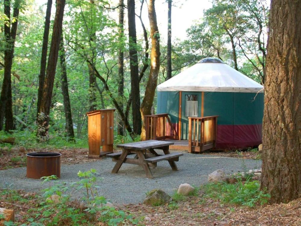 Bothe State Park yurt
