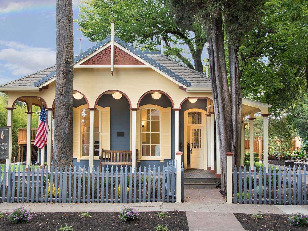 Brannan Cottage Inn in Napa Valley