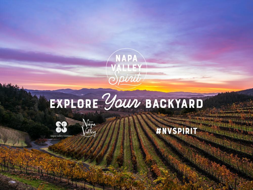 Napa Valley Spirit - Explore Your Backyard #NVSpirit
