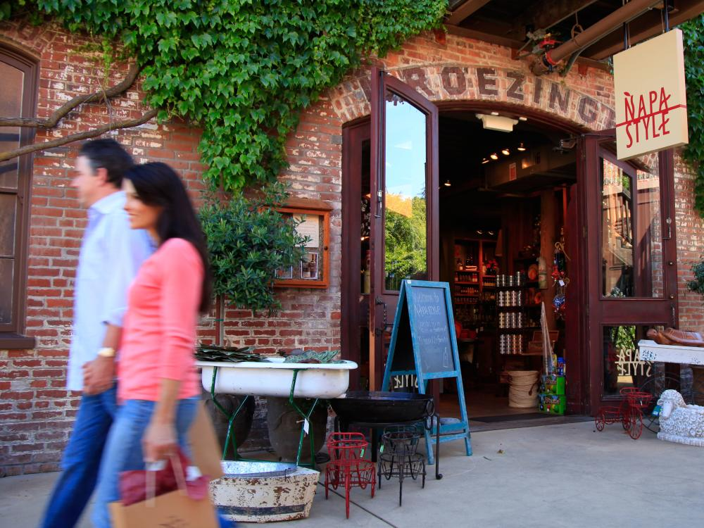 Yountville Shopping