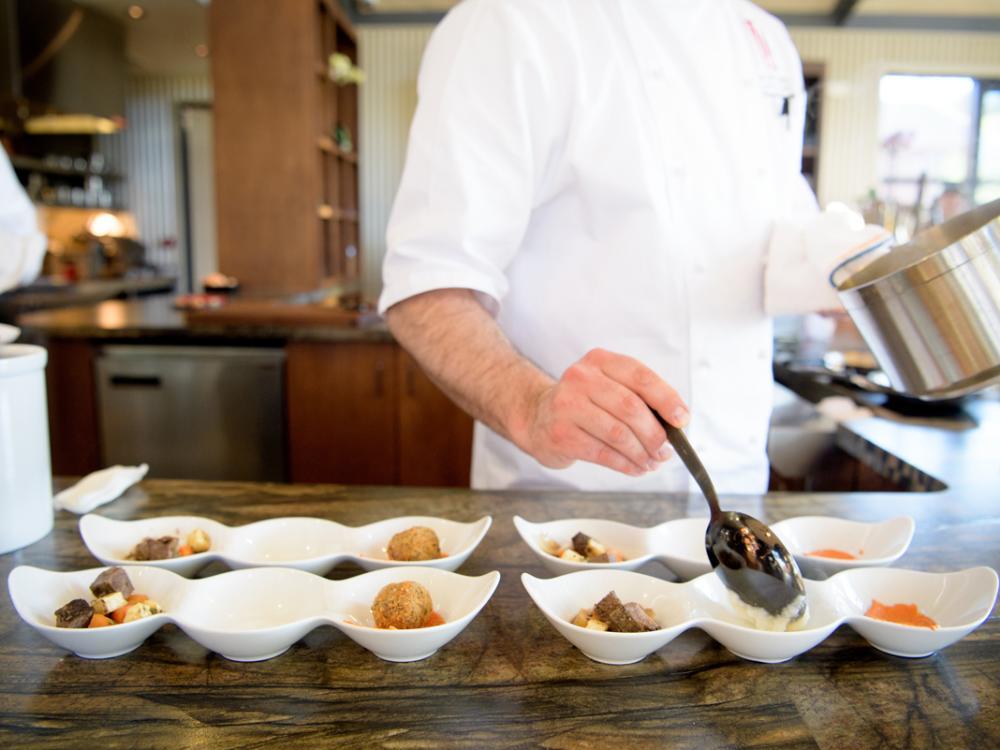 Napa Valley Chef Preparing Food