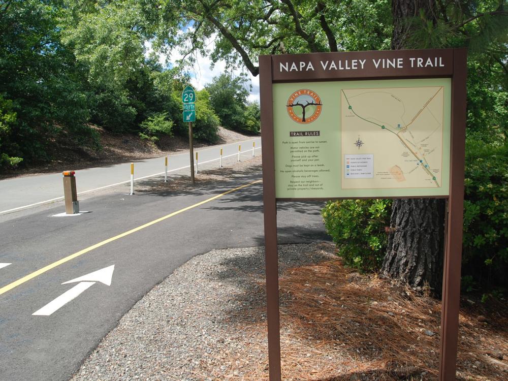 Napa Valley Vine Trail 1