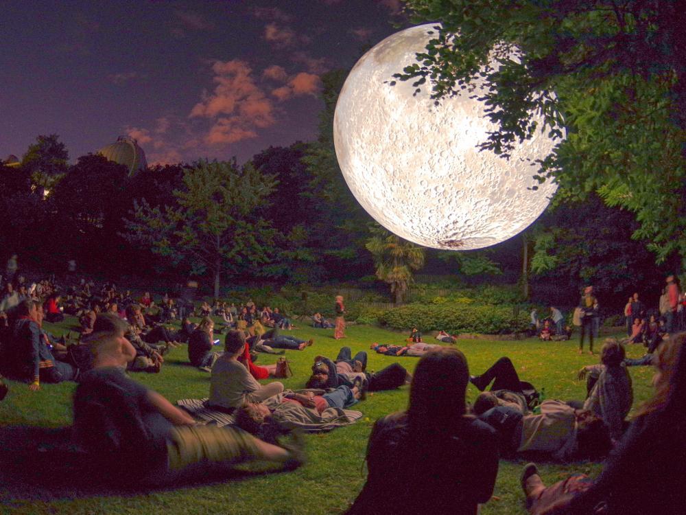 Napa Lighted Art Festival - Moon