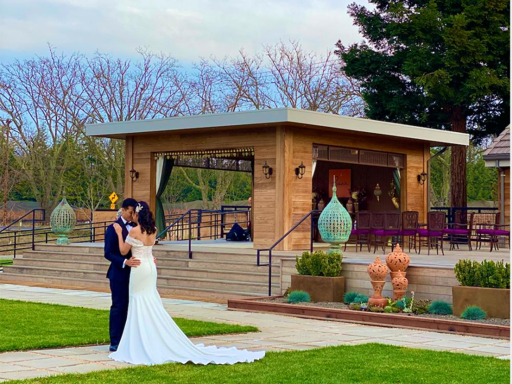 Wedding at Bann Oak Knoll