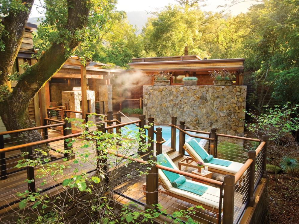Spa at Calistoga Ranch