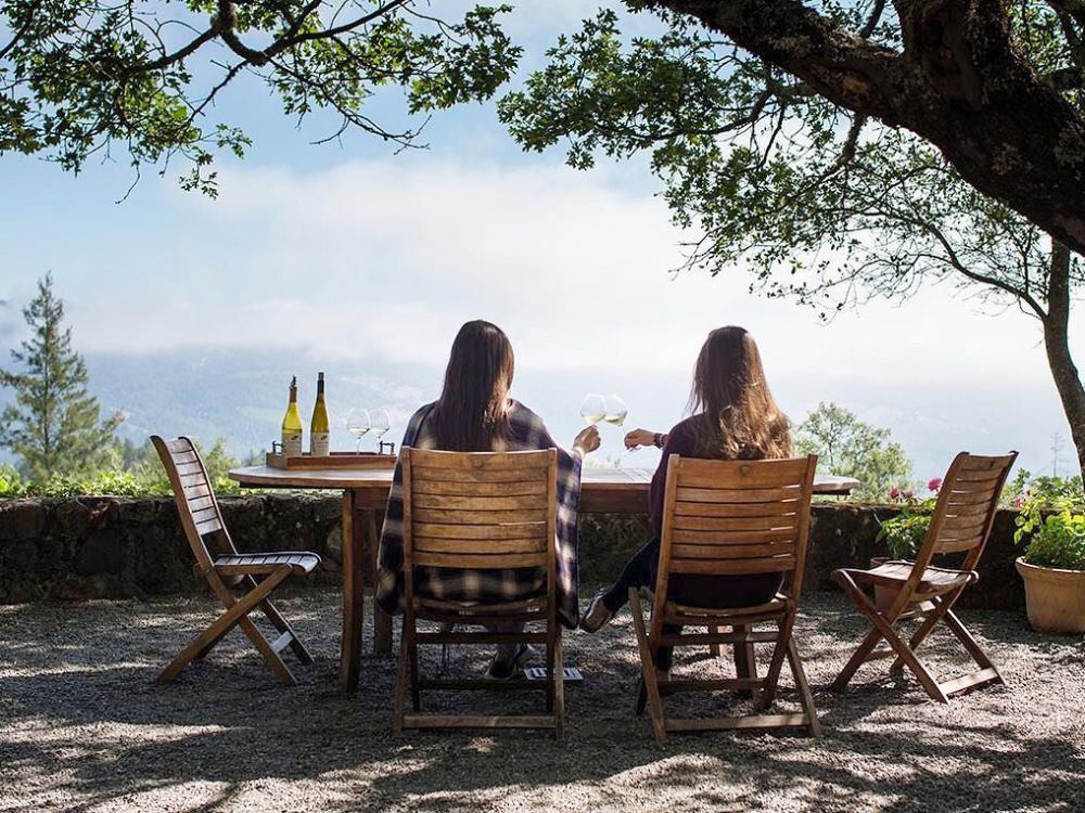 Stony Hill Vineyard wine tasting