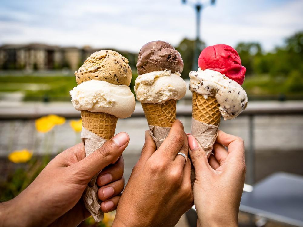 Ice Cream in Napa Valley