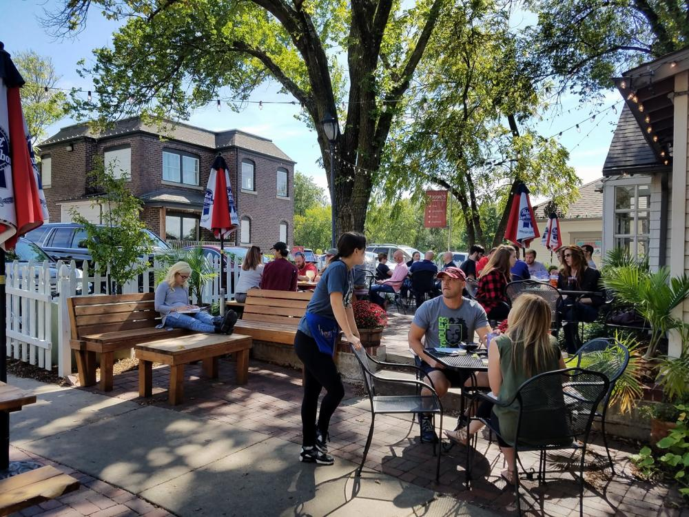Two Day Itinerary Day Two Lunch Ziggy's Pizza Patio