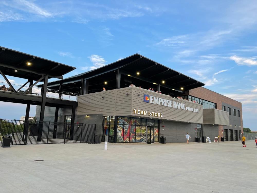 Emprise Bank Pavilion at Riverfront Stadium