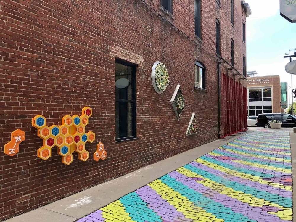 Gallery Alley Artwork