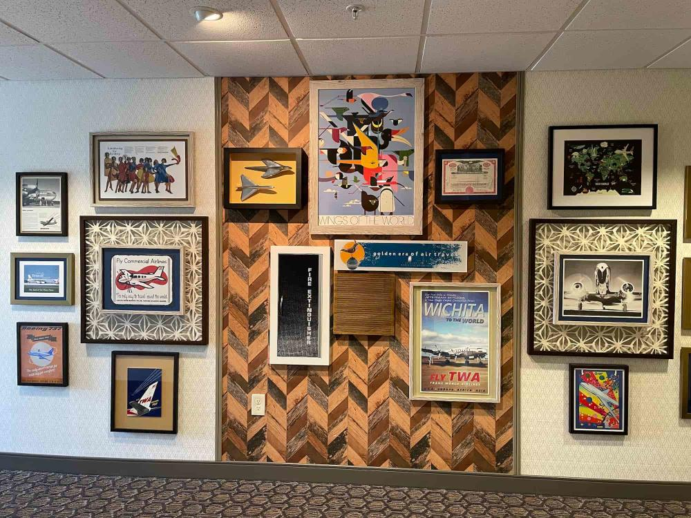 Aviation Pictures at Homewood Suites at the Waterfront Hotel