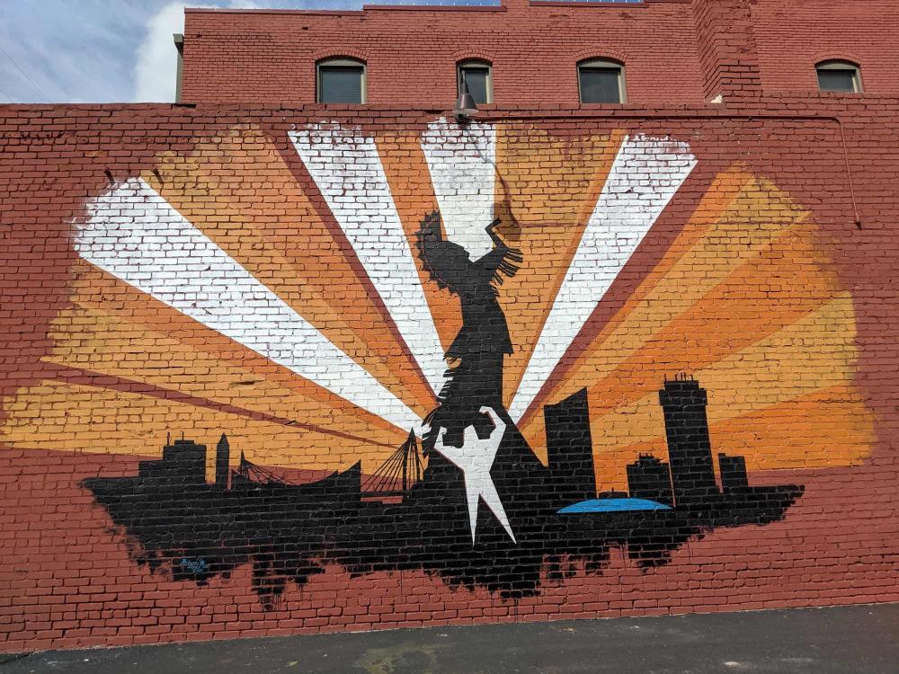 Strength Through the Spirit of Growth Mural