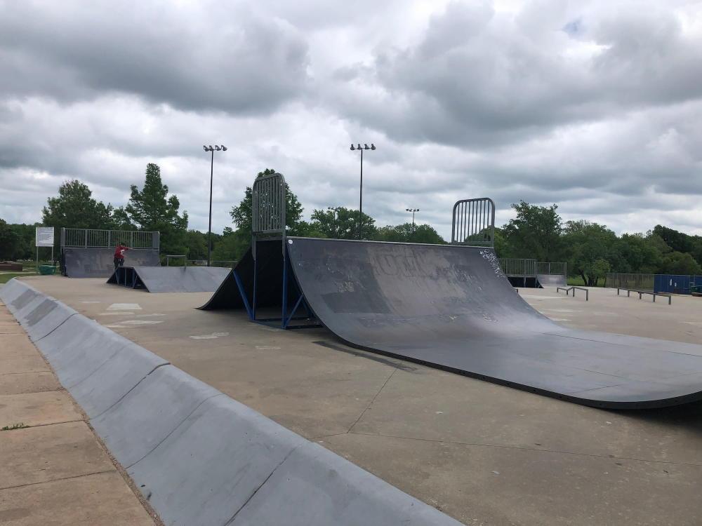 Ryan Woodward Memorial Skatepark in Edgemoor Park