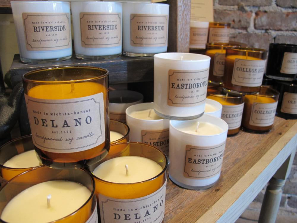 Candles from Bungalow 26