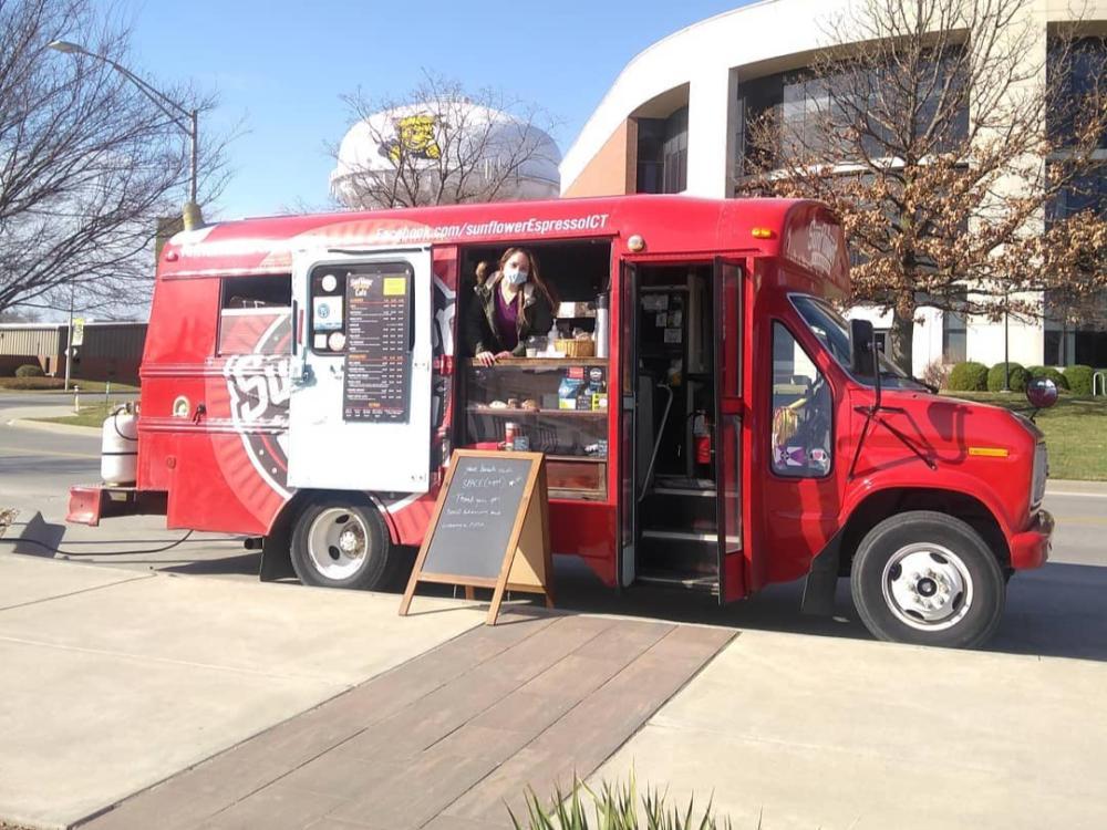 Sunflower Espresso Food Truck at Wichita State University's Food Truck Plaza