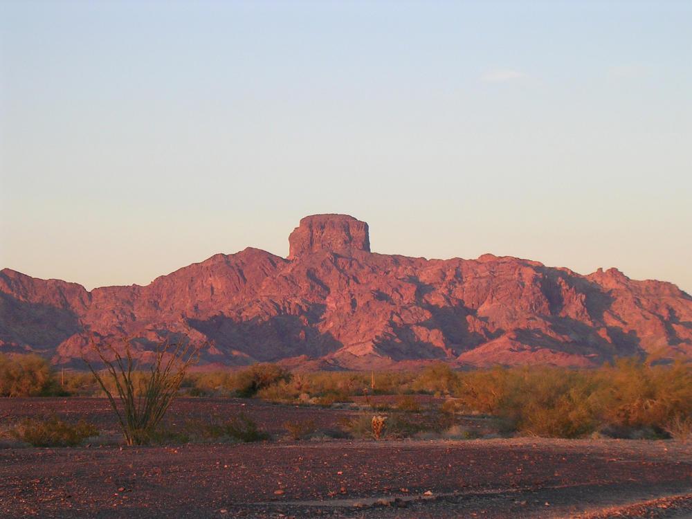 Castle Dome Peak in Yuma, Arizona