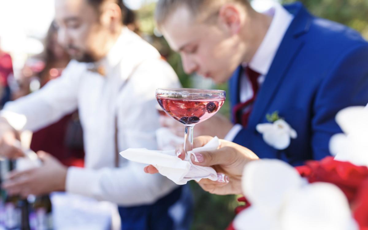 Alcoholic Drink Wedding