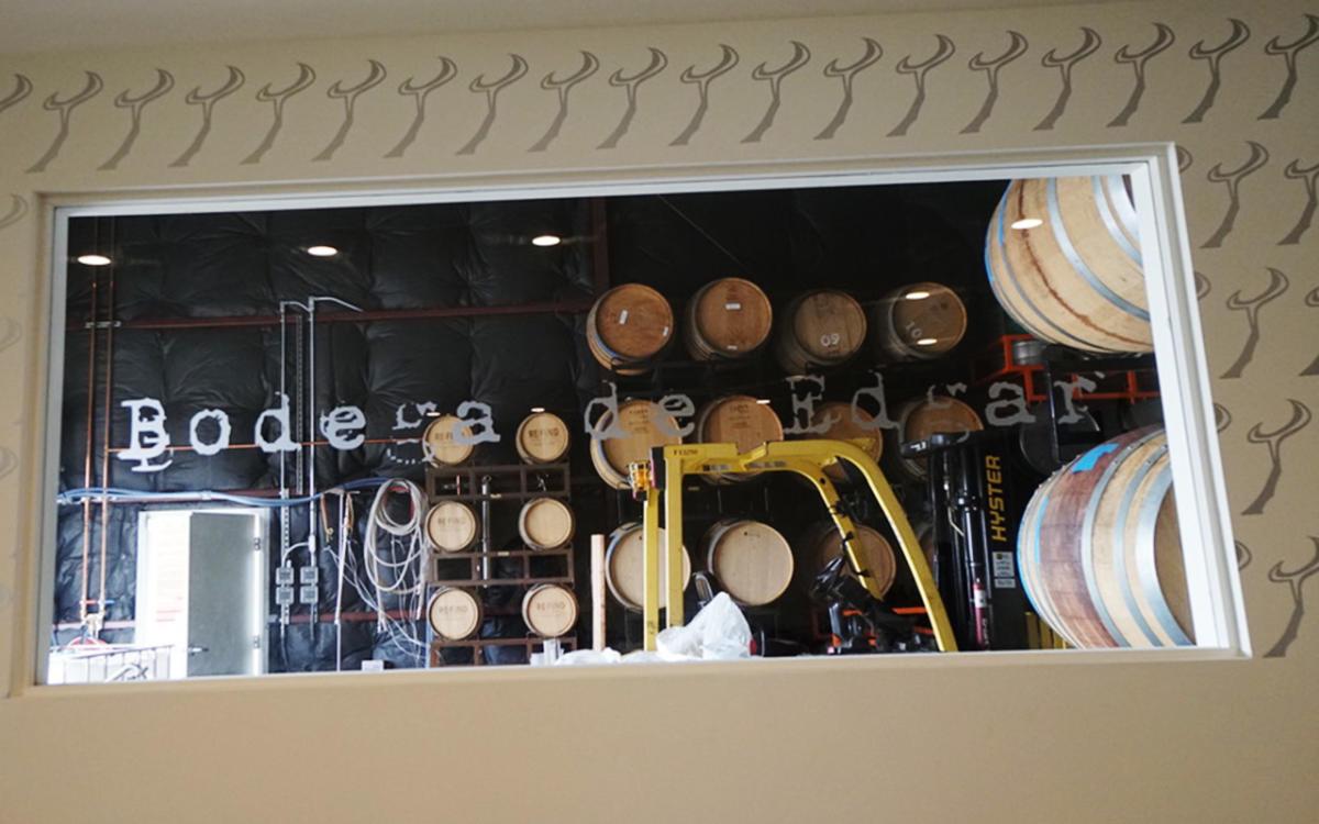 Inside Bodega de Edgar