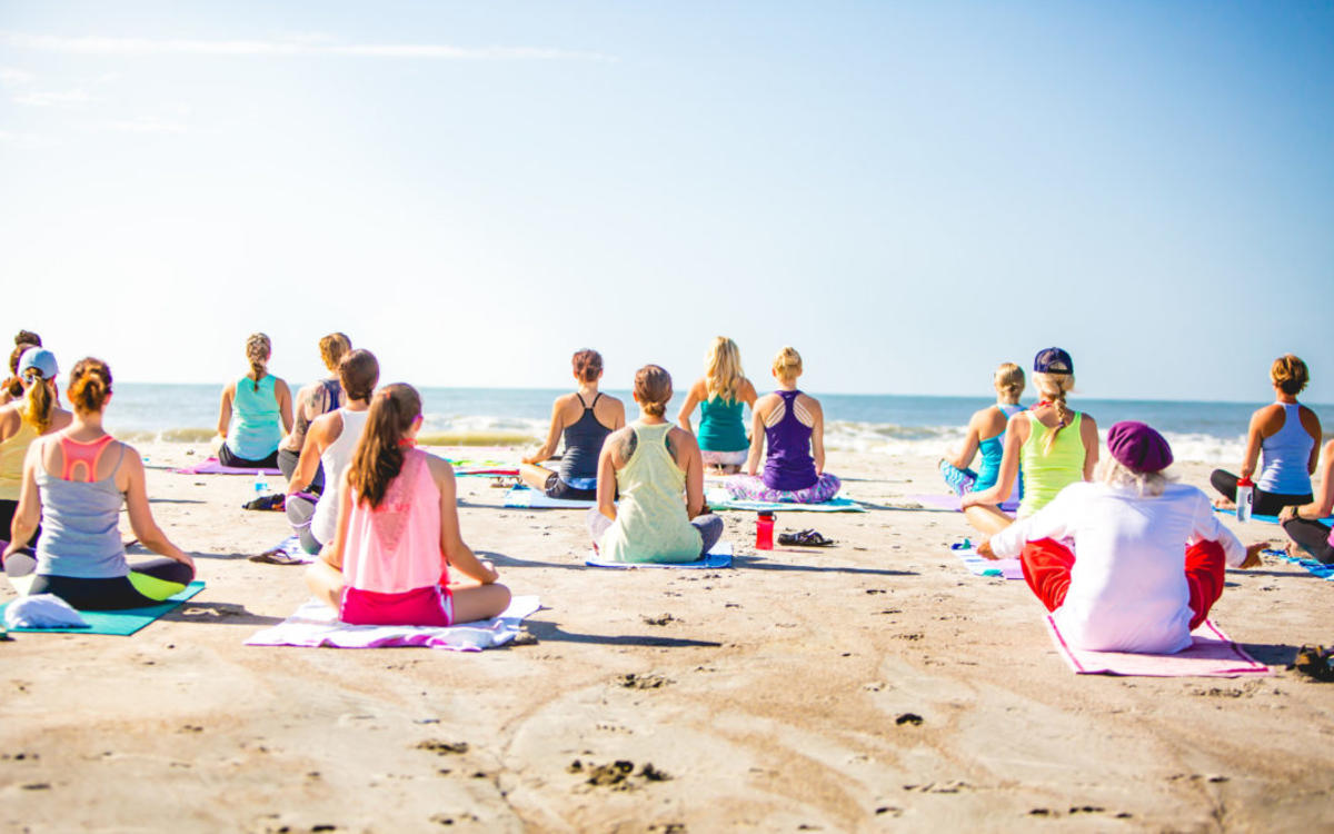 OC Yoga Festival in Huntington Beach