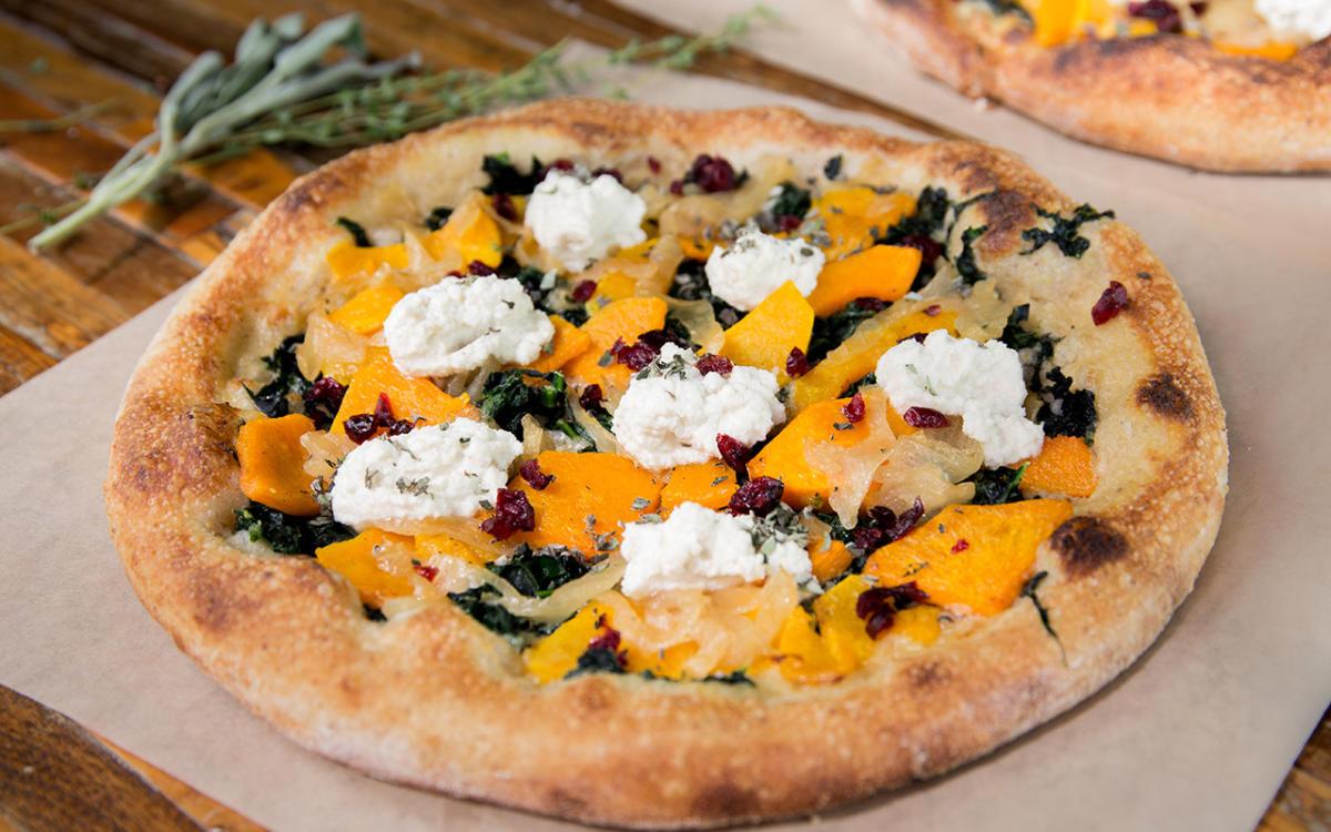 Butternut Squash Pizza at True Food Kitchen