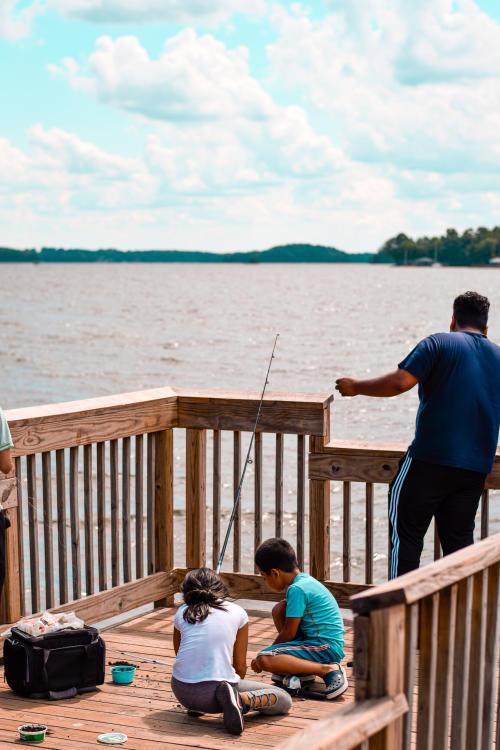 Ramsey Creek Park Fishing