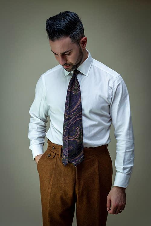 Custom suit Jeffrey Scott Holiday Shopping