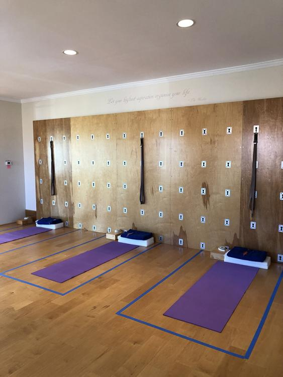 Purna Yoga East yoga studio from the Good Vibes article.
