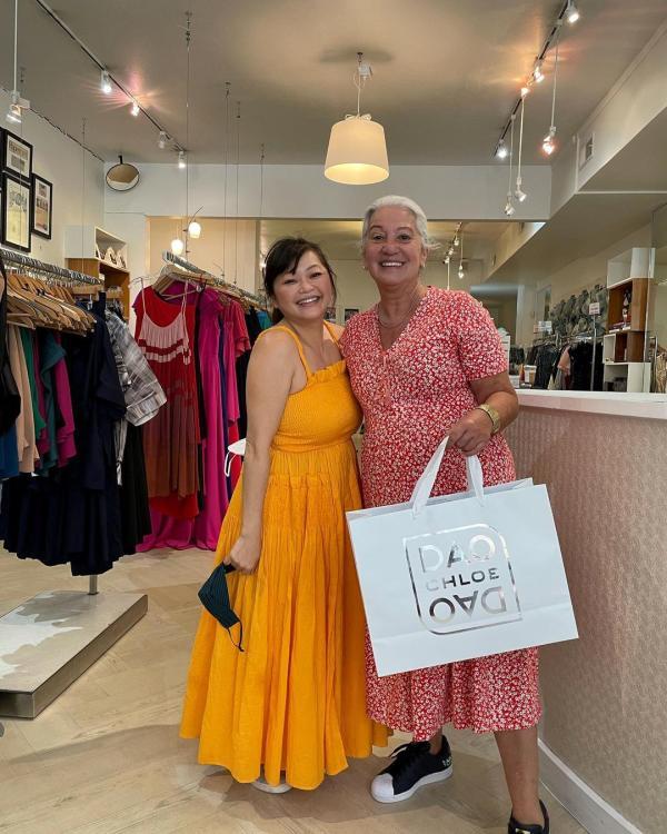 Two Women At Dao Chloe Dao In Houston, TX