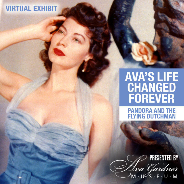 Ava Gardner in Pandora and the Flying Dutchman - virtual exhibit graphic