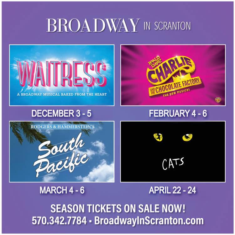 2021-2022 Broadway in Scranton Shows