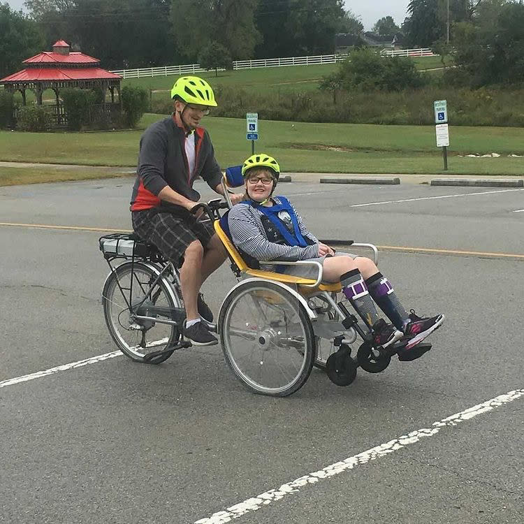 Adapted Bikes at Rutledge-Wilson Farm Park