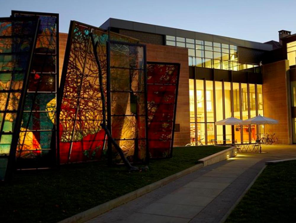 Princeton University Art Museum exterior entrance