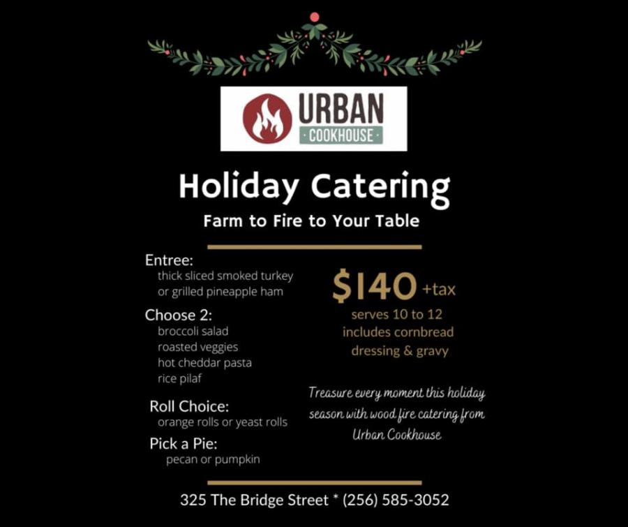 Urban Cookhouse Thanksgiving