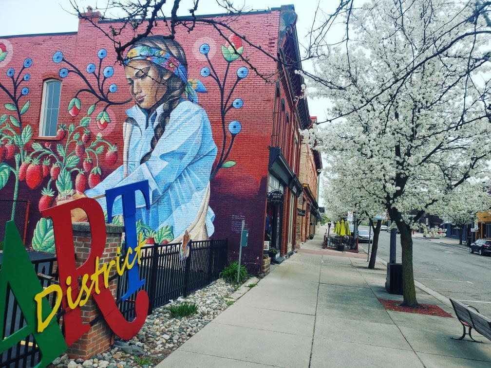 Old Town Mural Art