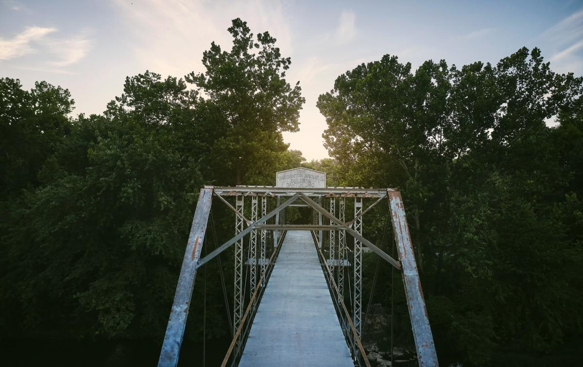 The Riverside Bridge at Finley Farms