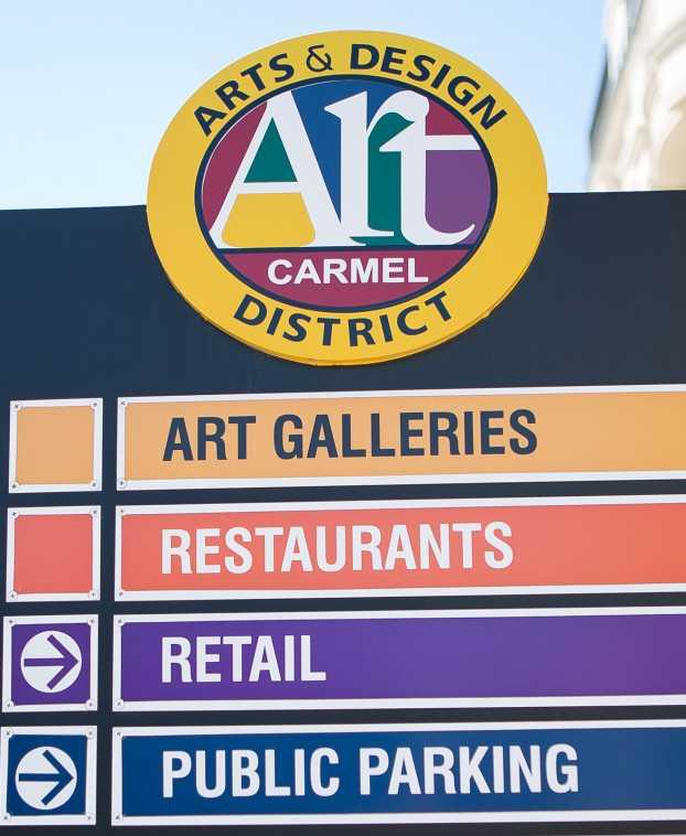 PorchFest Photo by: Brian McGuckin - 2014Arts & Design District Sign