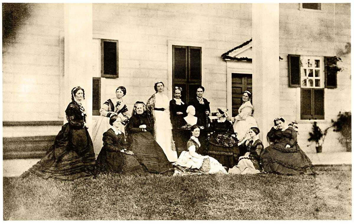 Ann Pamela Cunningham with the Mount Vernon Ladies Association