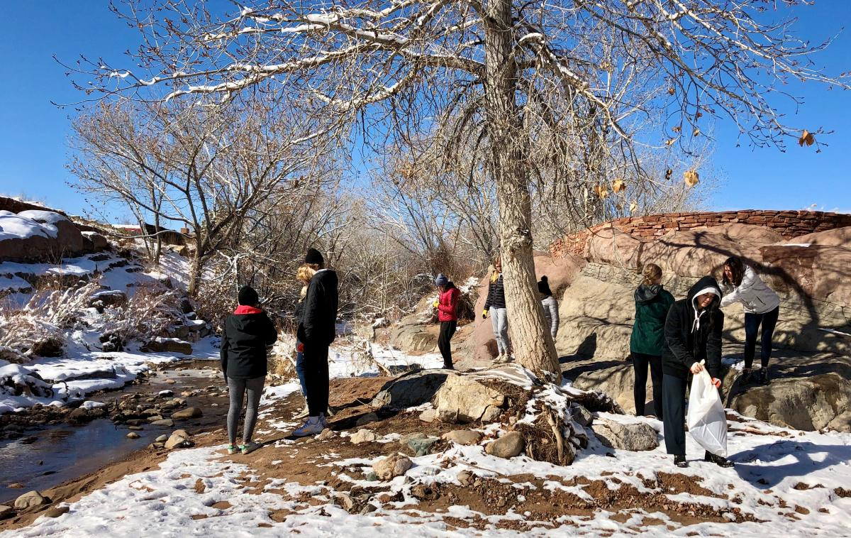 Santa Fe River Clean-Up with the Santa Fe Watershed Association