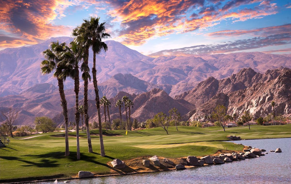 Golf course at PGA West, La Quinta