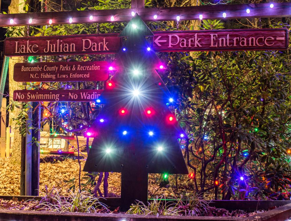 Lake Julian Festival of Lights 2017