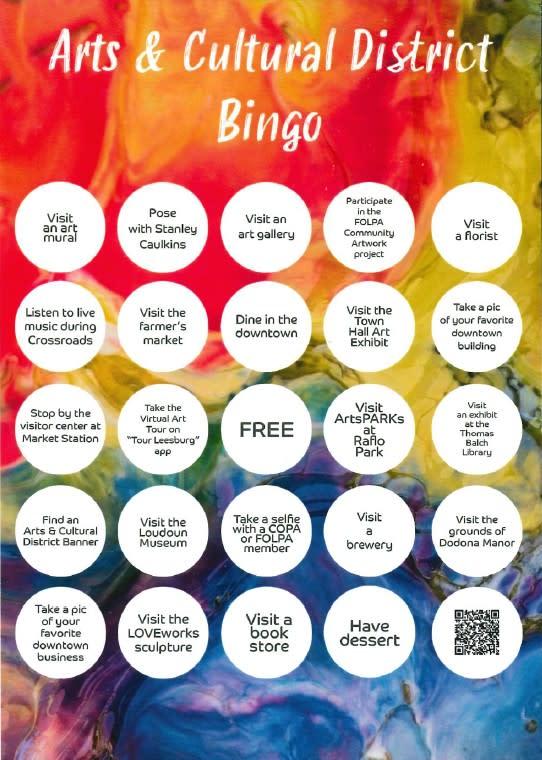 LACD Bingo Front