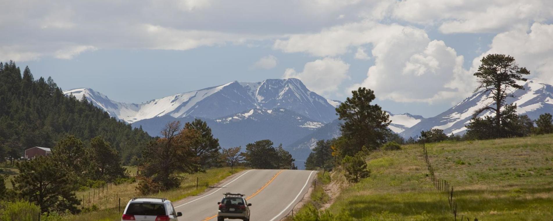 Scenic Drives Into Estes Park via Hwy 7