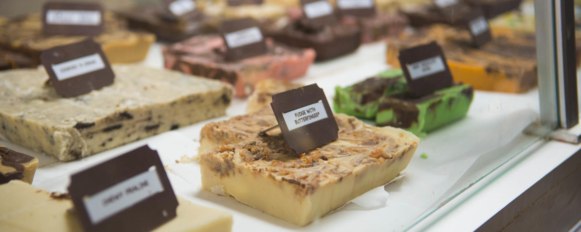 Take your pick of sweet treats in Estes Park