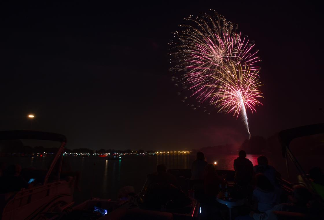 Catch the fireworks at Riverfront Rendezvous, the Stevens Point Area's annual Fourth of July festival.